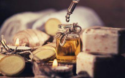 Aceite esencial de Jengibre
